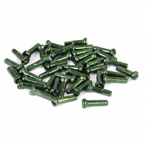 Vocal Alloy Spoke Nipples - Green